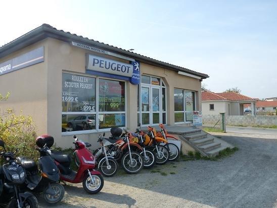 Un magasin et un atelier